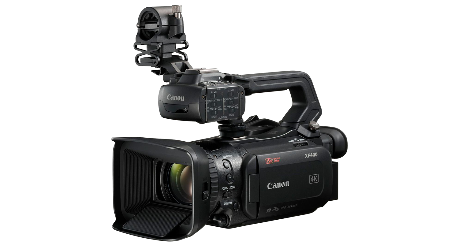 Canon XF405 camcorder hire