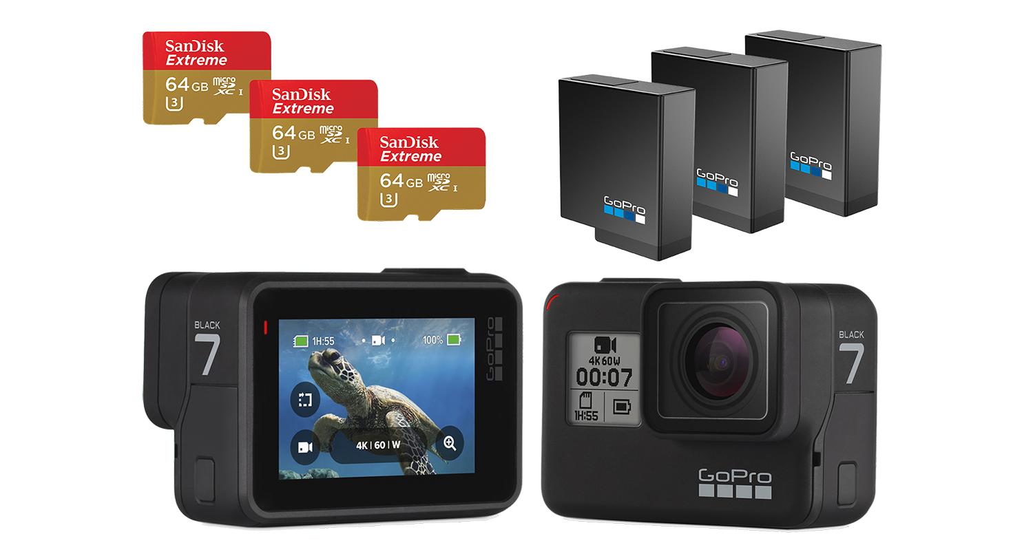 GoPro Hero7 package hire
