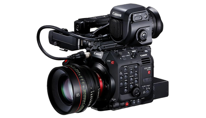 Canon C500 II hire