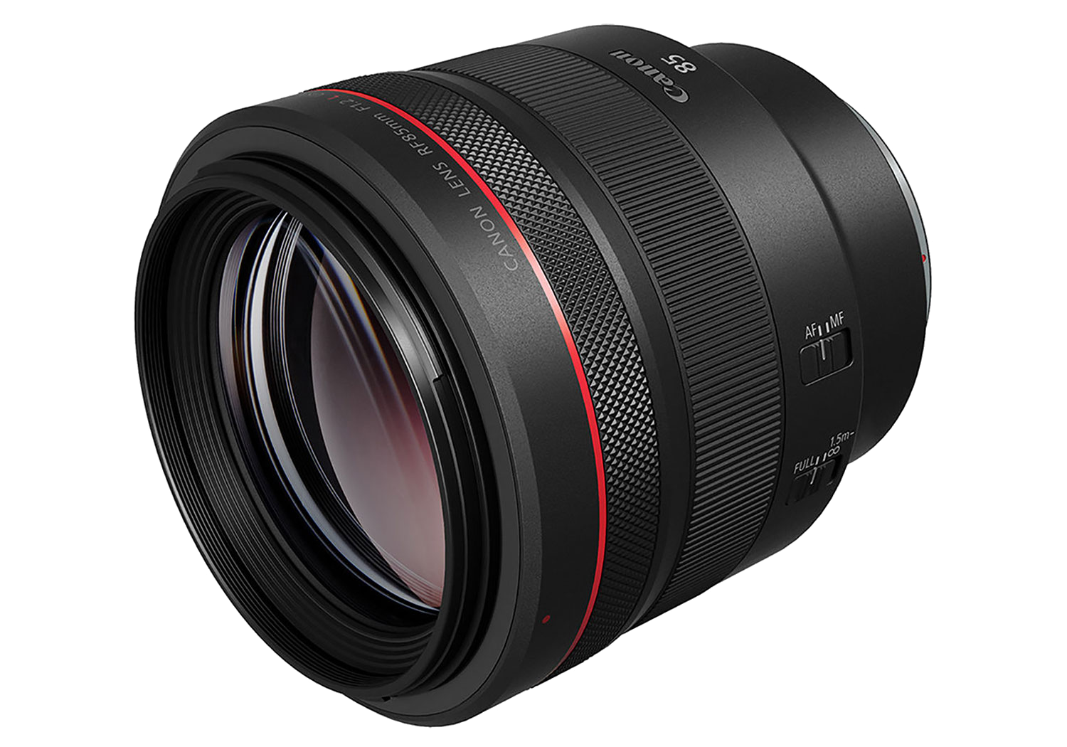 Canon RF 85mm lens hire