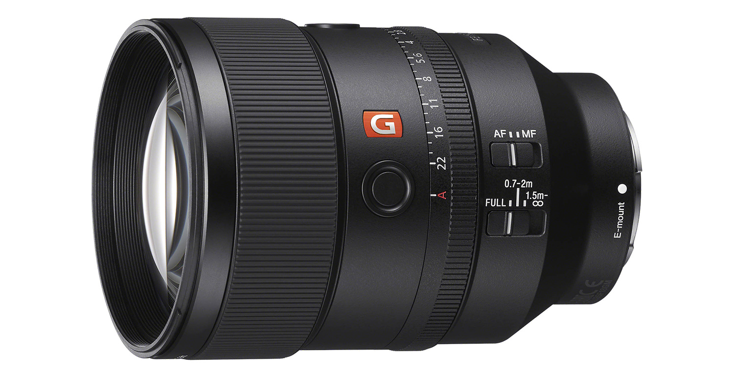 Sony 135mm lens hire