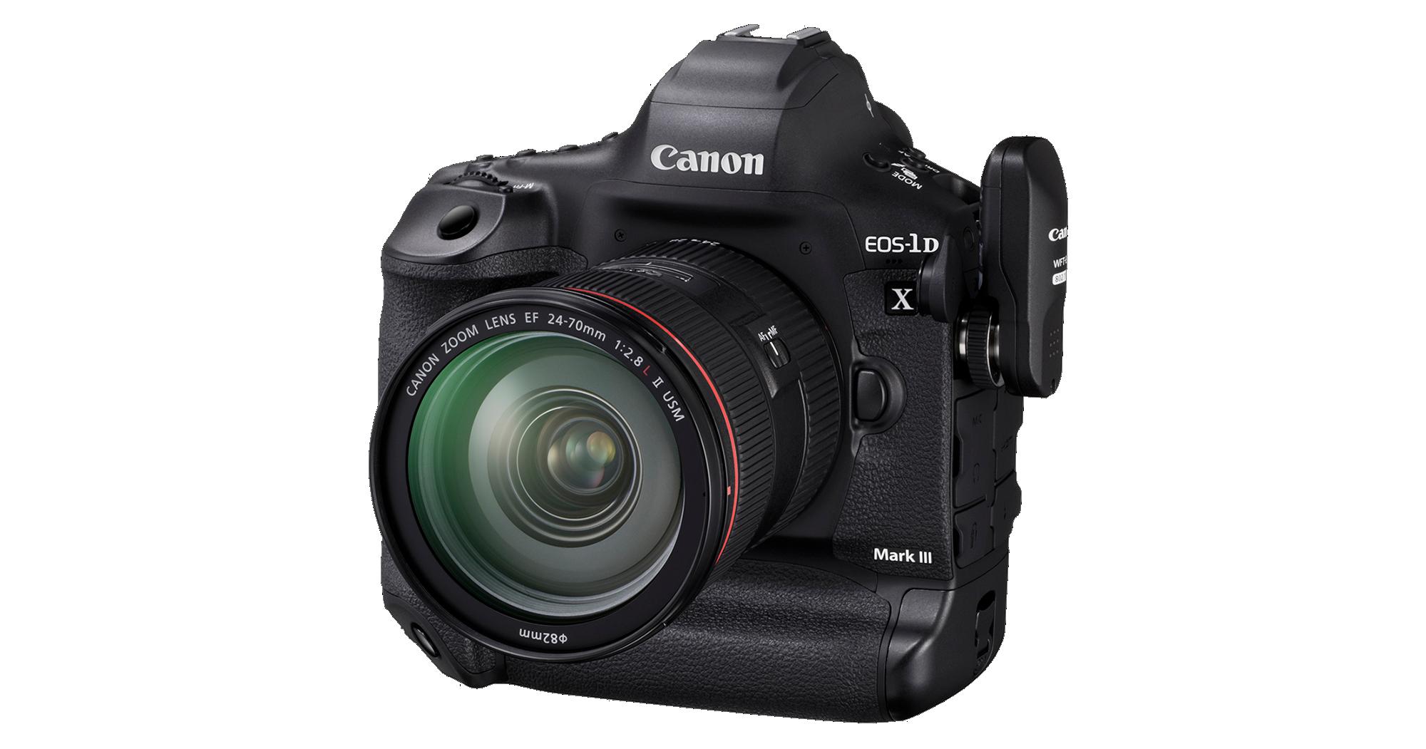 Canon 1D X III announced
