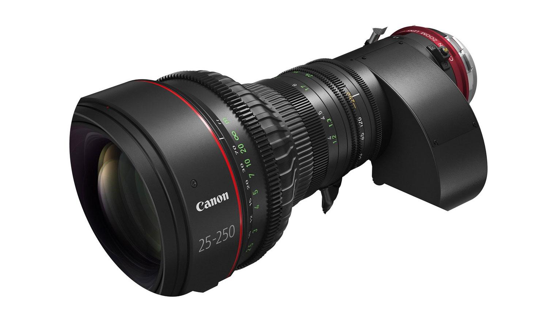 Canon CN10x25 lens