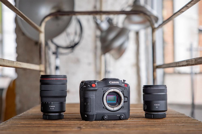 Canon EOS C70 mount