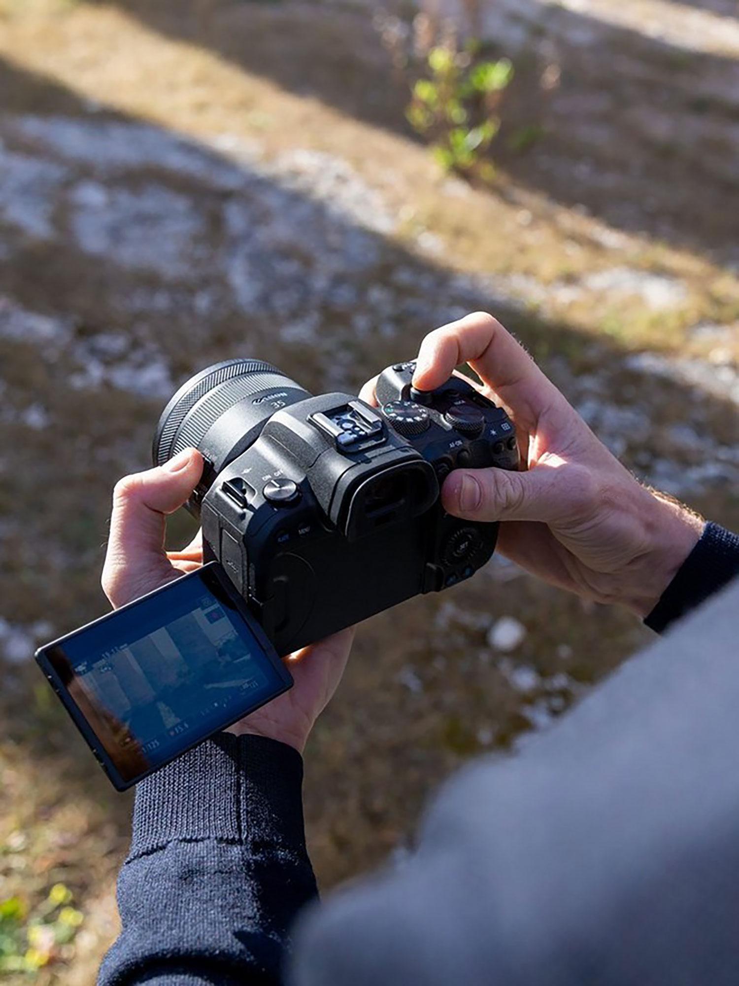 Canon R6 hire