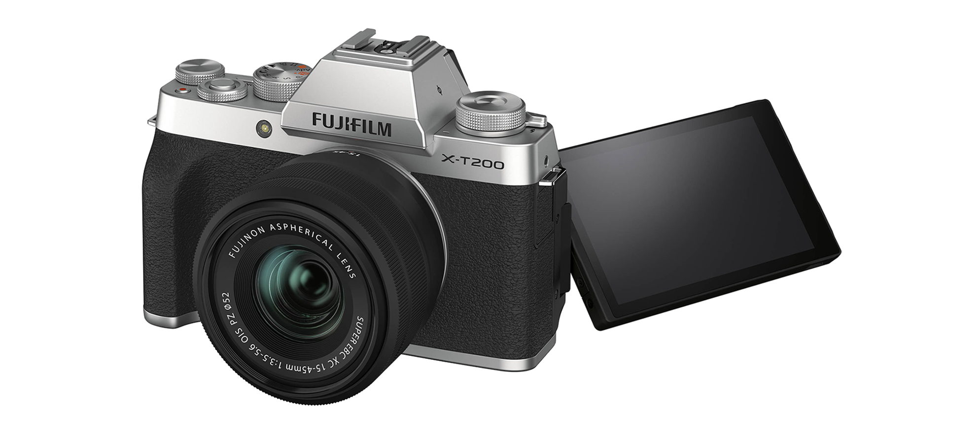 Fujifilm X-T200 screen
