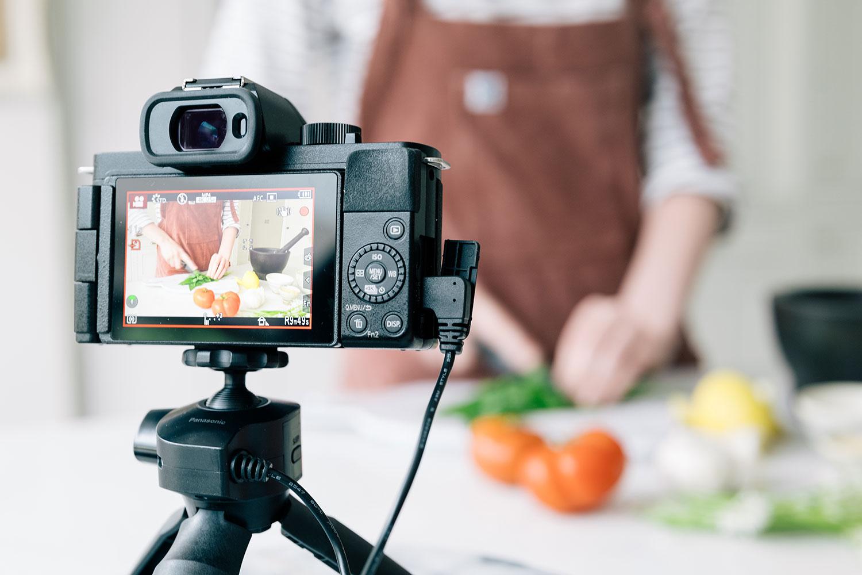 Panasonic G100 vlogging