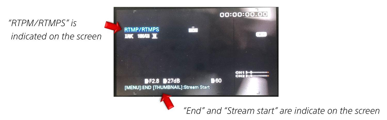 Sony Z90 Livestreaming