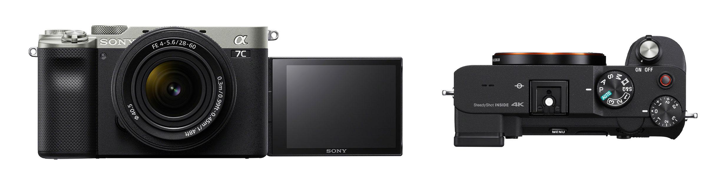 Sony a7C LCD