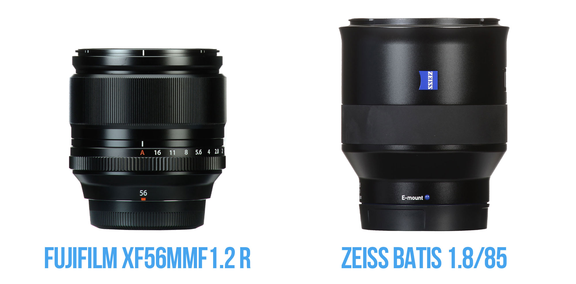Fuji vs ZEISS lenses
