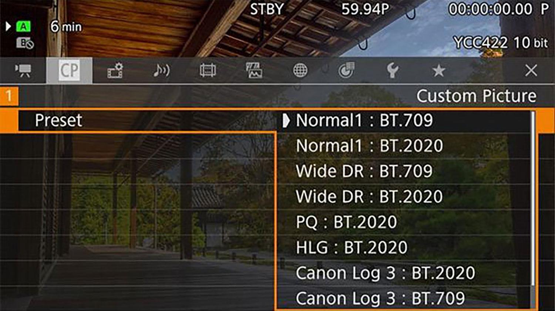 Canon XF705 hire