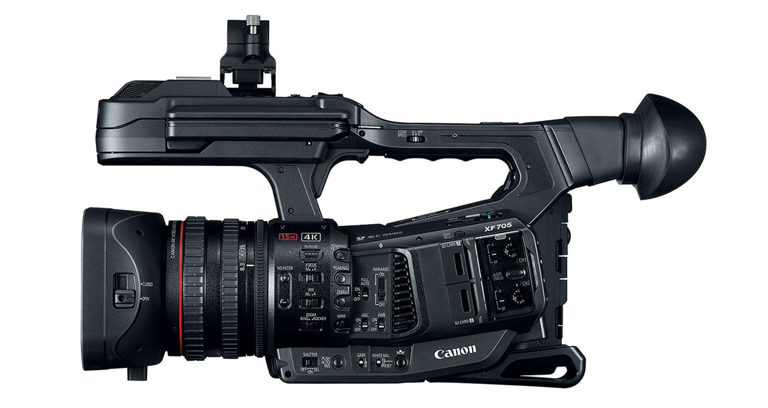 Canon XF705 camcorder hire