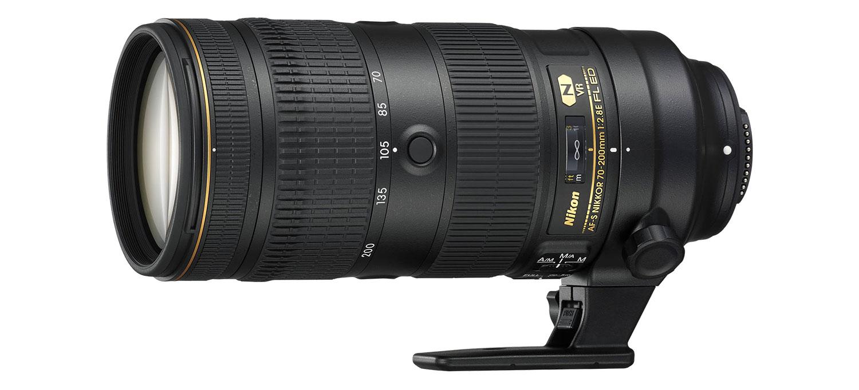 Nikon 70-200mm lens hire