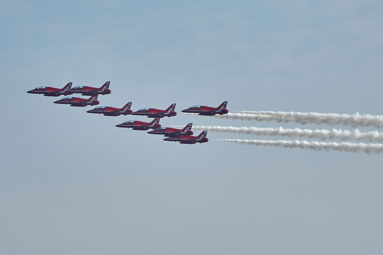 Robin Walker Red Arrows photography