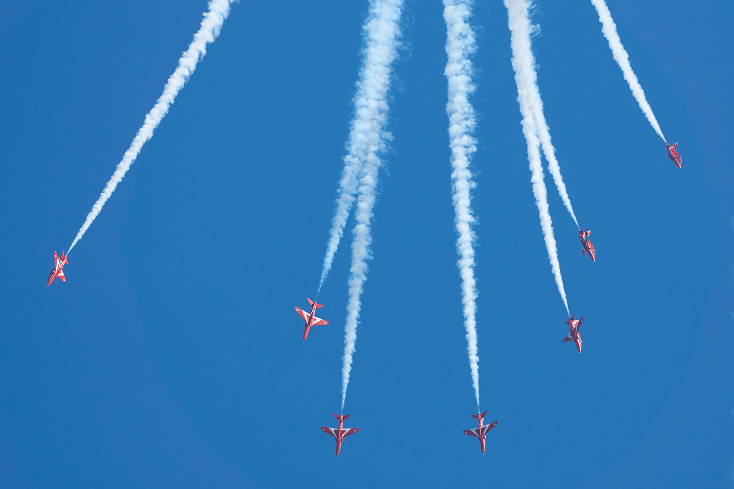Red Arrows photography Sony