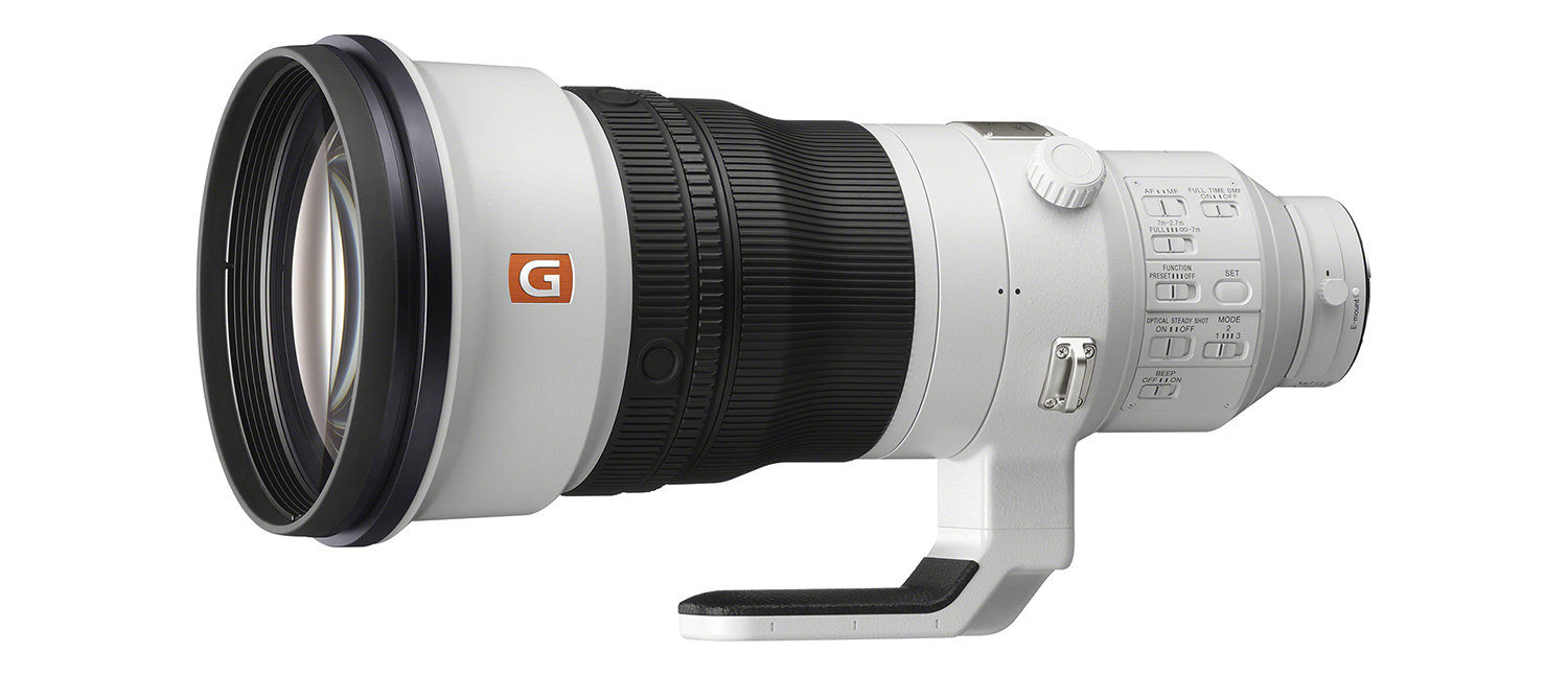 Sony 400mm lens hire UK