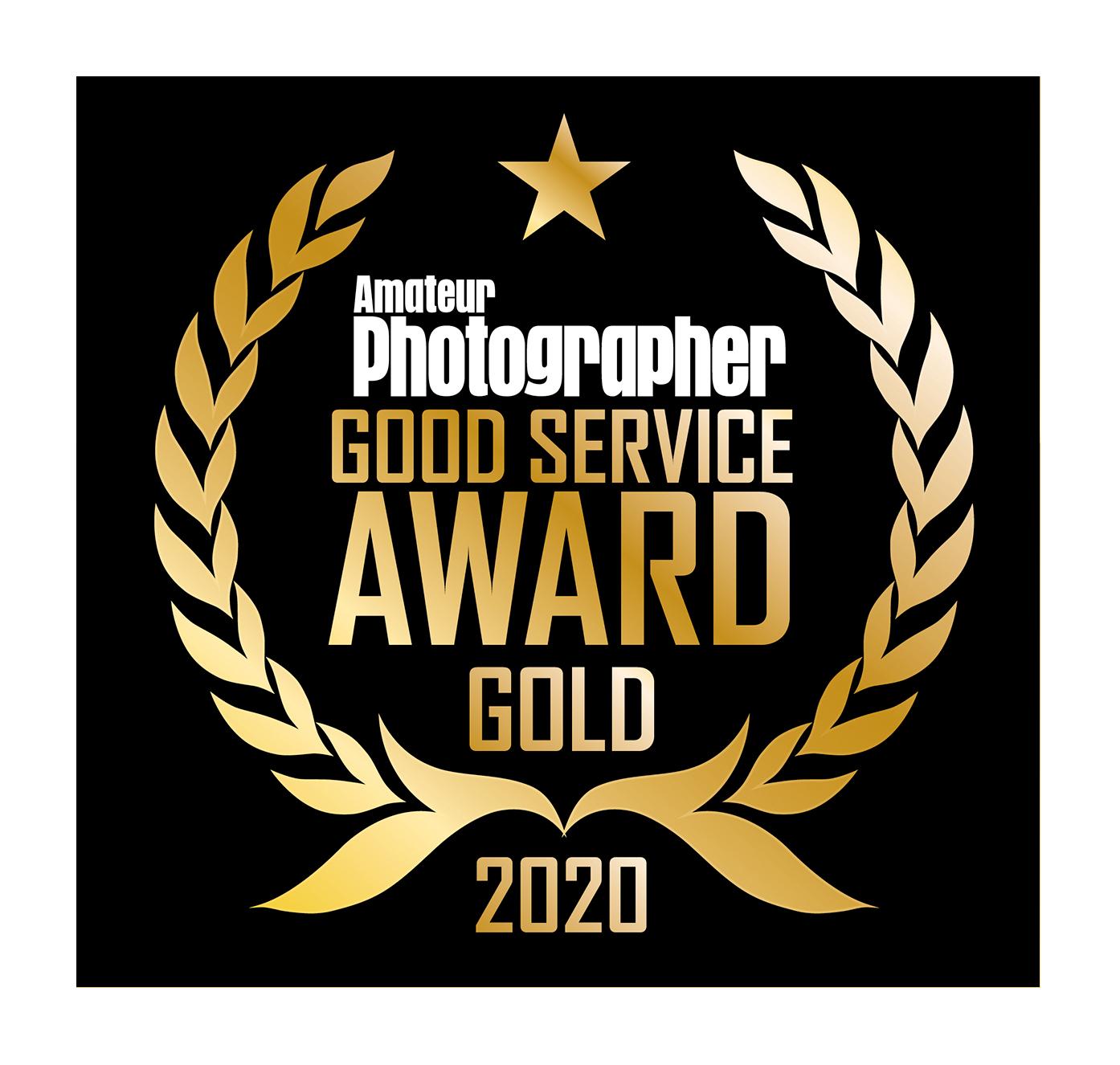 Amateur Photographer 2020 Good Service Award
