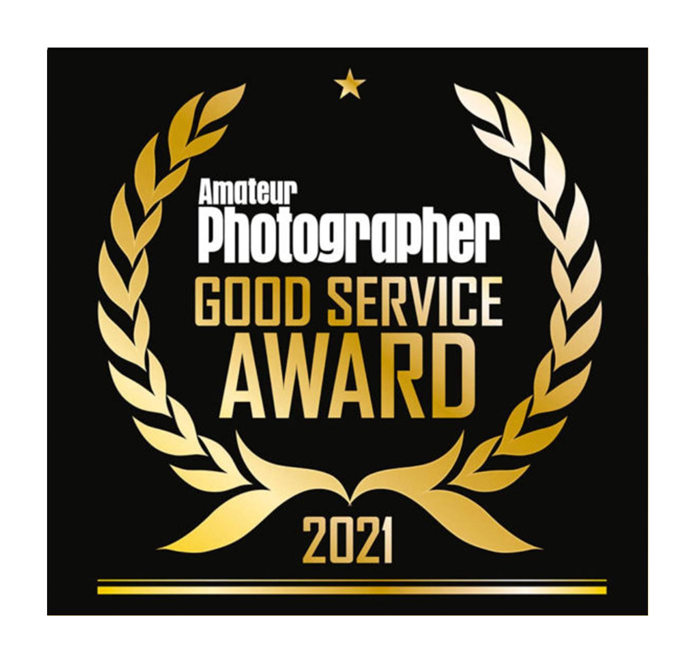 Amateur Photographer 2021 Good Service Award